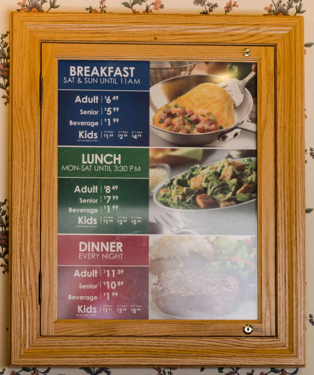 Old Country Kitchen Buffet Prices
