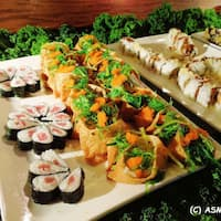 Fabulous Kumo Japanese Seafood Buffet Parma Cleveland Urbanspoon Download Free Architecture Designs Jebrpmadebymaigaardcom
