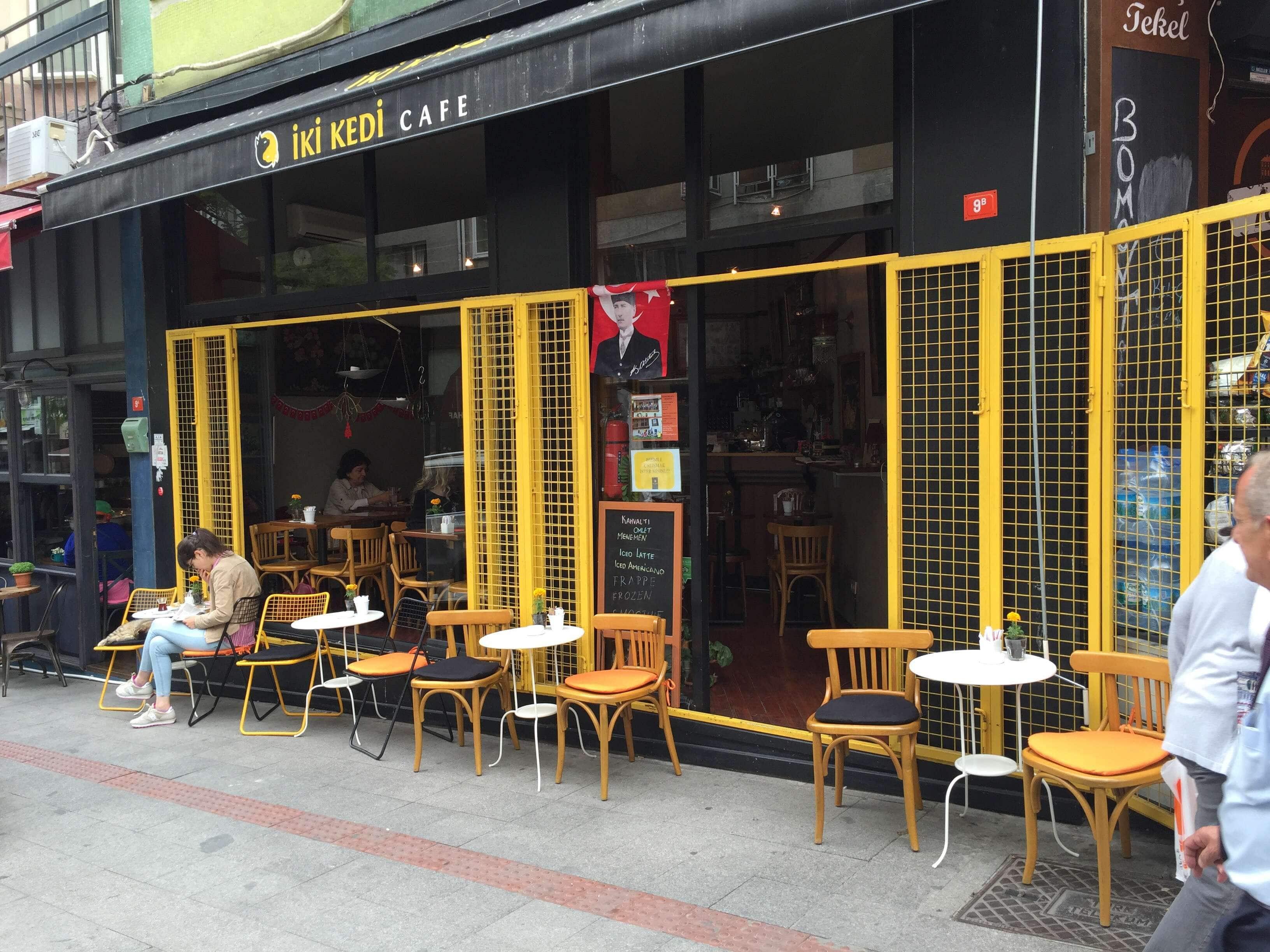 Aylin Kumdagezers Review For Iki Kedi Cafe Moda Istanbul On Zomato