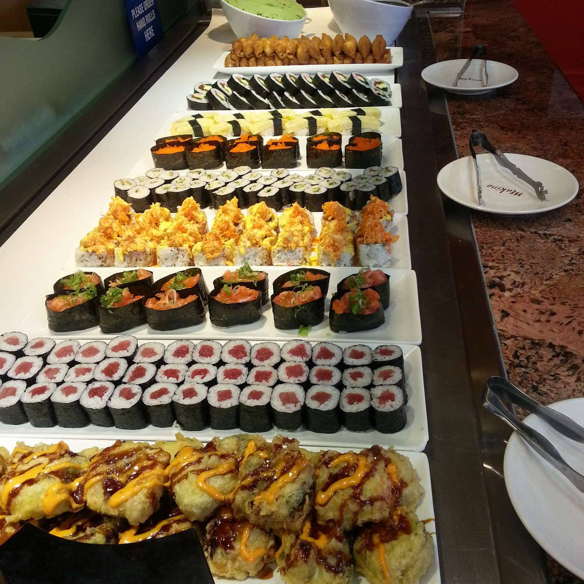 buffet - Picture of Makino at Premium Outlets, Las Vegas - TripAdvisor
