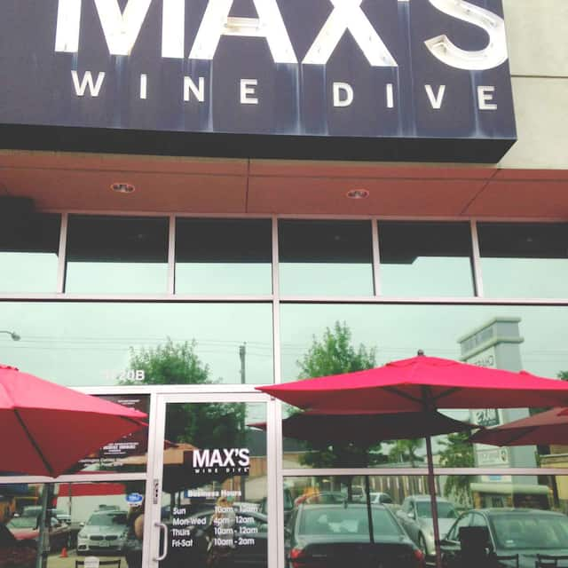 MAX's Wine Dive Houston – Washington Ave