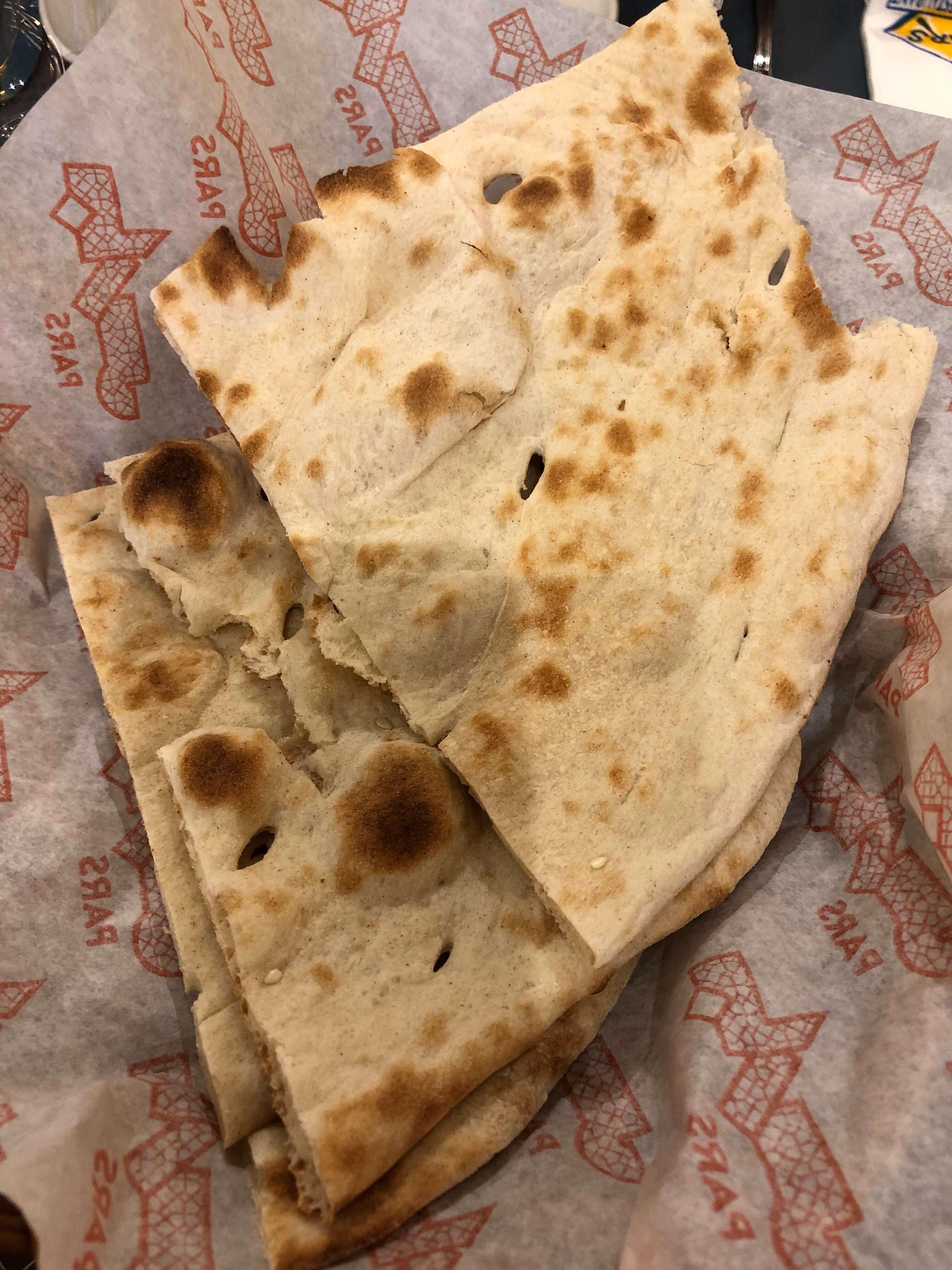 Pars Iranian Kitchen Menu
