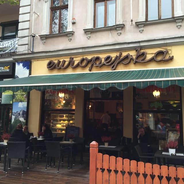 Kawiarnia Europejska