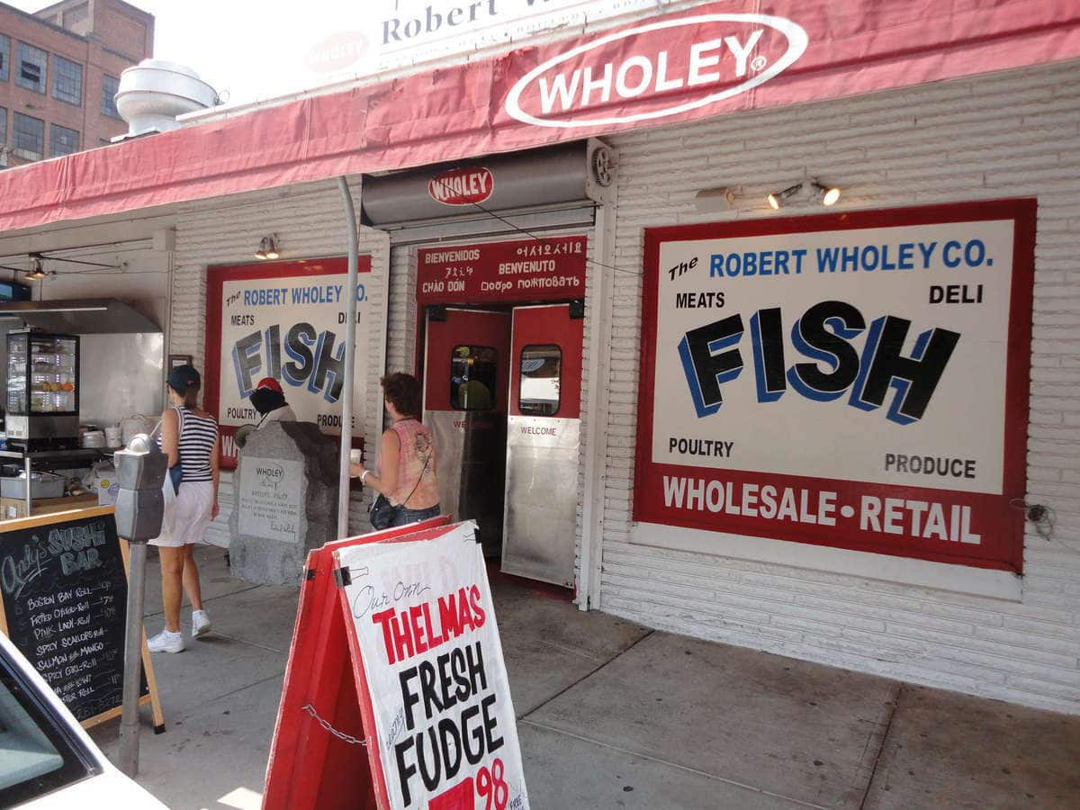 Mr wholey 39 s photo for wholey 39 s fish market for Wholey s fish market