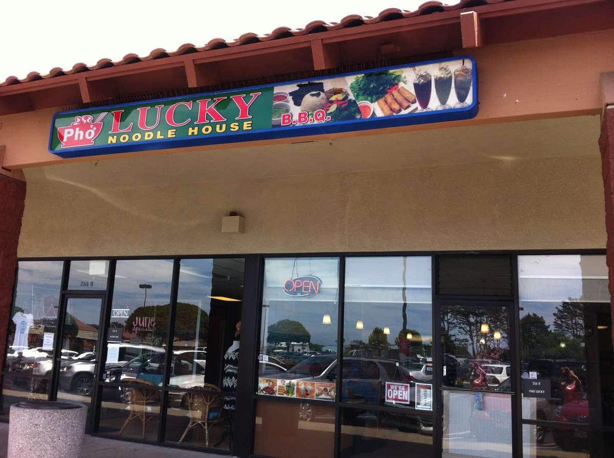 Pho Lucky Noodle House Menu Menu For Pho Lucky Noodle House Marina Monterey Bay
