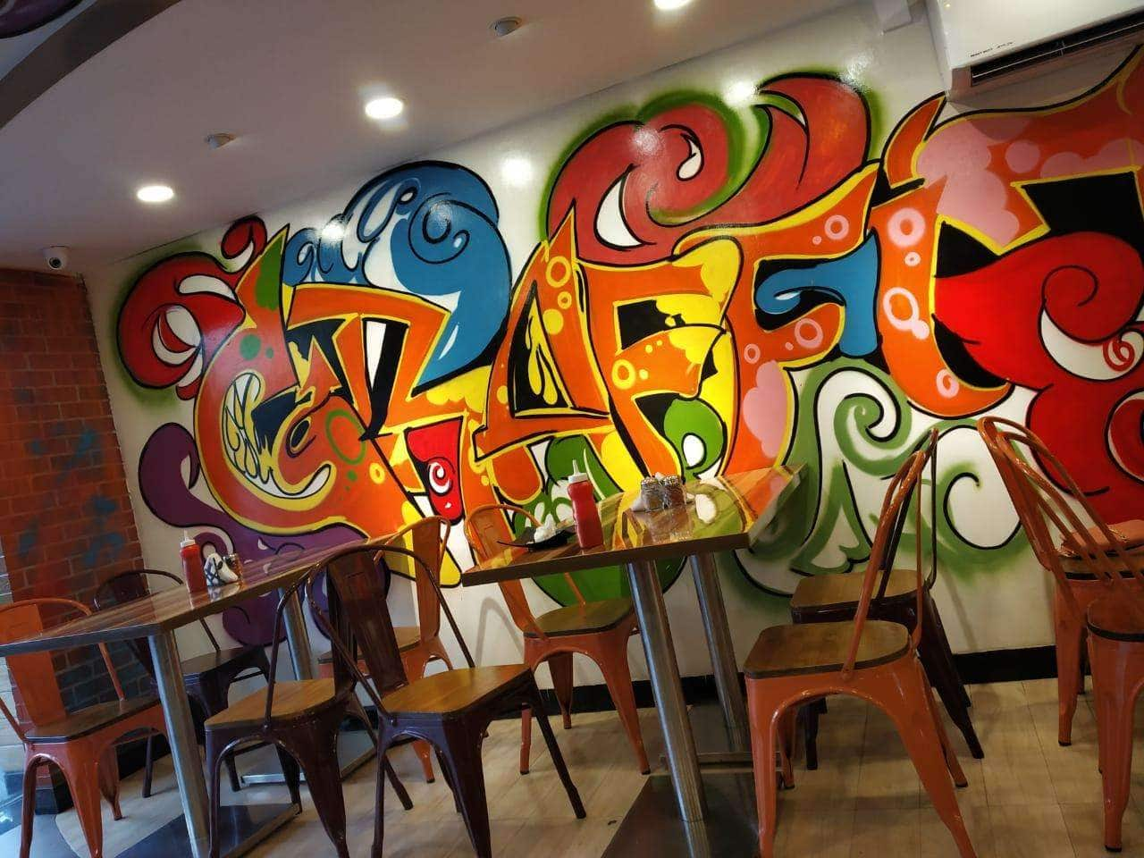 Hydfoodiesisterss review for cafe graffiti pizzeria