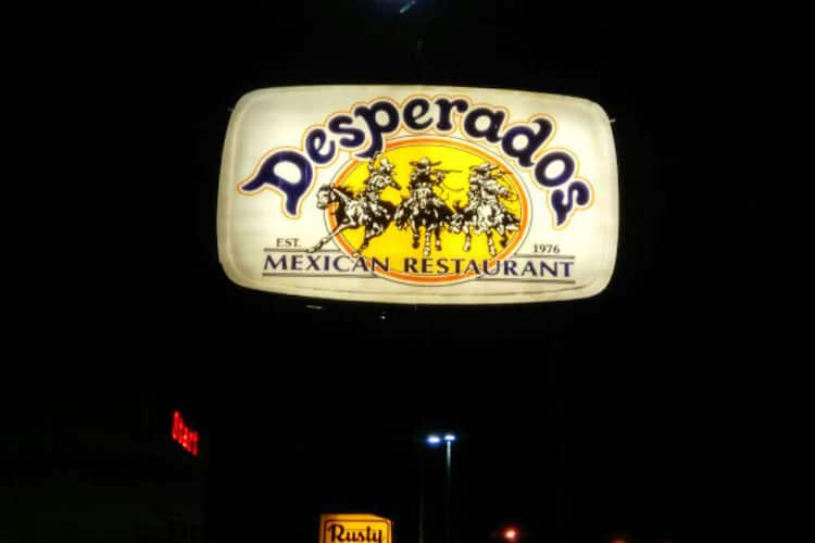 Desperados Mexican Restaurant Northeast Dallas Dallas