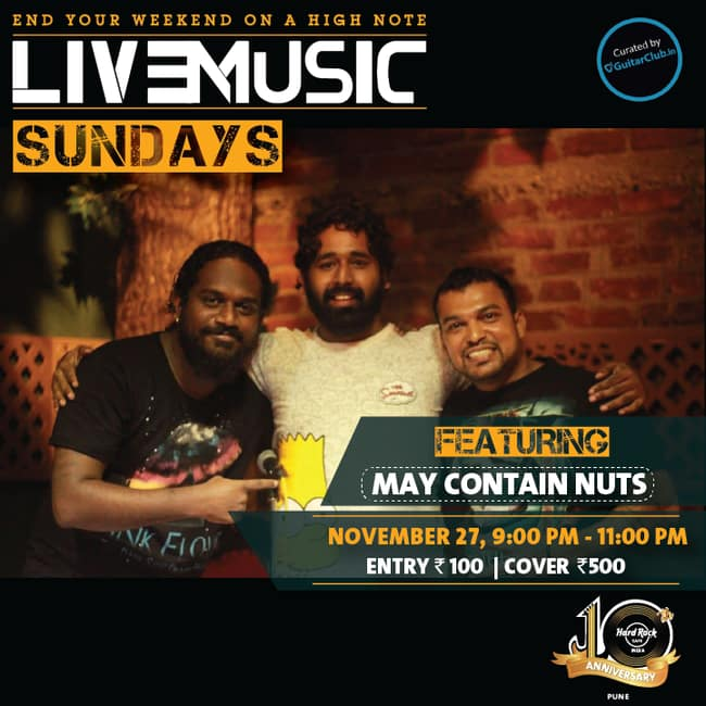 Songs Played In Hard Rock Cafe Pune